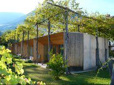 Vivienda unifamiliar, en Bolzano, Italia. Arquitecto: Werner Schmidt.