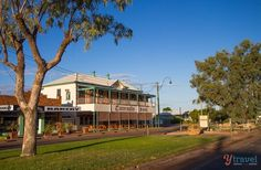 Tattersalls Hotel in Winton, Outback Queensland