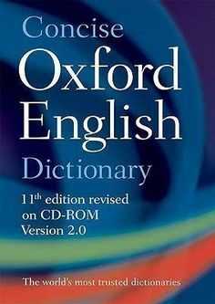Oxford English Dictionary 11th Edition Full Free Download