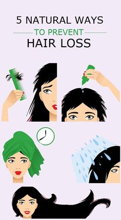 5 natural ways to prevent hair loss