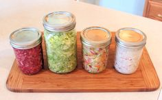 Sauerkraut has been popular for years as a way to preserve cabbage. These days it has also been advocated as a source for beneficial probiotic bacteria for our gut. It's also tasty, and really easy to make it yourself.