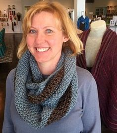 Brown Eyes Blue Cowl - Loops®, A yarn store in Tulsa, Oklahoma. - Powered by ePosim eCommerce