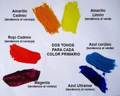 colores primarios oleo Painting Tips, Painting & Drawing, Colour Pallette, Make Color, Color Theory, Art Tips, 2 Colours, Art Studios, Color Mixing