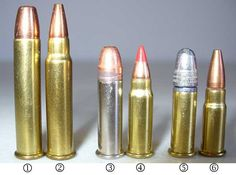 Left to Right: 22 WMR (Winchester Magnum Rimfire) or 22 Magnum 17 HMR (Hornady Magnum Rimfire) or 17 Hummer 22 Stinger 17 (Hornady Mach or 17 Mach 2 22 LR (Long Rifle) or simply 22 17 Aguila or 17 PMC or 17 High Standard Military Weapons, Weapons Guns, Guns And Ammo, Shooting Targets, Shooting Guns, Rifle Targets, Sniper Training, Long Rifle, Shooting Accessories