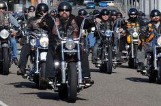 Biker gangs bring war to Britain: Cops fear clashes as crews roll ...