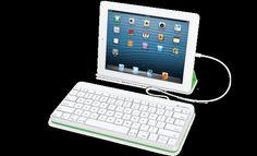 Wired Keyboard for iPad - Logitech is FULL SIZE keyboard! #iPad #keyboard #apple