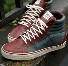 Cool Stuff We Like Here @ CoolPile.com ------- << Original Comment >> ------- Vans Leather Sk8-Hi Reissue CA