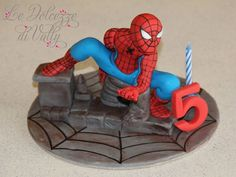 Spider-Man Cake Topper