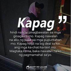 Eyy  hintayin mo Lang.. dadating din ang araw na iyan