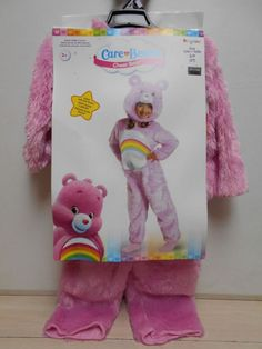 "Adorable Care Bear Halloween Costume NEW 2 PC ""Cheer"" Bear Outift SIZE 2T Girl's #Disguise #CompleteOutfit"