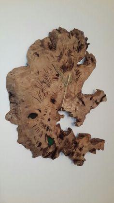 שעון מעץ זית Wood Clocks, Furniture, Home Furnishings, Wooden Clock, Arredamento