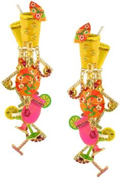 f67f7ac20 Lunch at The Ritz 2Go Pool Party Earrings Clips Summer Jewelry, Fashion  Jewelry, Elegant