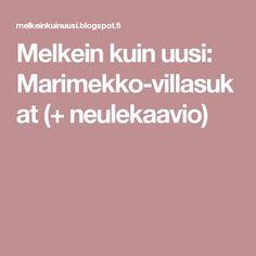 Marimekko, Socks, Patterns, Tips, Block Prints, Sock, Stockings, Ankle Socks, Pattern