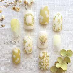 いいね!765件、コメント2件 ― ikueさん(@irotoiro.nail)のInstagramアカウント: 「・ ・ 新しいアカウントです!→ @irotoiro.ikue ・ ・ ・ ブライダルにもオススメのナチュラルなデザインをのせていきます☺︎ ・ ぜひご覧ください♪ ・…」 Pedicure Nail Art, Manicure, Cute Nails, My Nails, Floral Nail Art, Nail Polish Art, Girls Nails, Nail Trends, Nail Designs