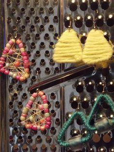 Paperclip earrings