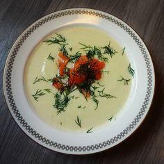 Edel's Mat & Vin : Blomkålsuppe med røkelaks ✿