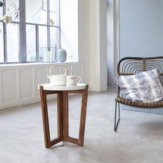Acheter Bout de Canapé en Palissandre - Petite Table Pliable