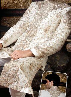 Perfect details - Mughal Style Sherwani - indian/ pakistani groom costume