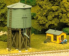 Walthers Cornerstone Freight House -- Kit - Use w/ x - HO Usa Rail, Window Glazing, Model Train Layouts, Water Tower, Kit Homes, Ho Scale, Model Trains, Gazebo, Outdoor Structures