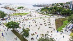 Galeria de Urbanização da Orla Prefeito Luiz Paulo Conde - Boulevard Olímpico / B+ABR Backheuser e Riera Arquitetura - 1