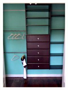 Beautiful Baby Jax New Martha Stewart Closet System. Paint Is Benjamin Moore Custom  Matched From Tiffany