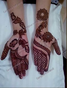 25 Latest Arabic Mehndi designs of 2018 with stunning Art Latest Arabic Mehndi Designs, Indian Mehndi Designs, Mehndi Designs For Girls, Mehndi Designs 2018, Stylish Mehndi Designs, Wedding Mehndi Designs, Mehndi Designs For Fingers, Mehandi Designs, Wedding Henna