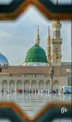 Al Masjid An Nabawi, Green Dome, Quran Surah, Noble Quran, Madina, Mecca, Mosque, Taj Mahal, Religion