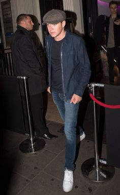 Niall leaving the Toy Room Nightclub in London
