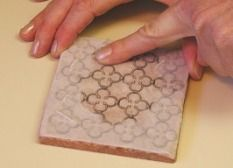 transfer any image from laser printer (black and white or color) onto ceramic tile
