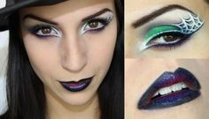 Inspirations Maquillages d'Halloween - Maquillage Cynthia Halloween Cans, Halloween Make Up, Halloween Decorations, Halloween Party, Halloween Costumes, Halloween Face Makeup, Maquillage Halloween Simple, Maquillaje Halloween, Valentines Day Makeup