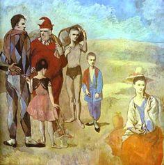 Les Bateleurs, 1905 Picasso,
