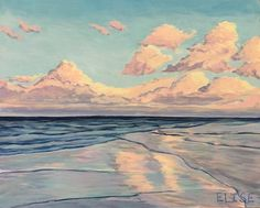 Reflections on Sullivan's Island | Elise Nuckols Art | Charleston, SC