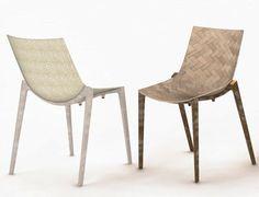 Zartan, la nuova sedia in materiali naturali di Philippe Strack per Magis