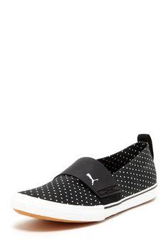 PUMA El Rey Slip-on Sneaker $24.00 Vans Classic Slip On, Cloths, Polish, Nails, Sneakers, Shoes, Fashion, Drop Cloths, Finger Nails