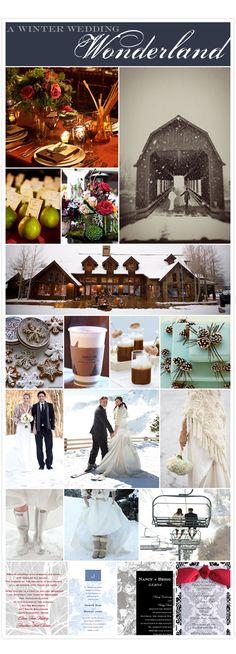 A Winter Wedding Wonderland
