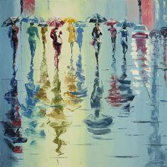 Solar Rain, New York by Stanislav Sidorov. #ugallery