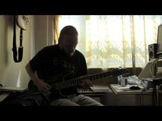 Elmo Karjalainen playing to Devin Townsend style backing track - YouTube