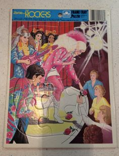 Barbie and The Rockers Mattel Puzzle 1987 Free Shipping. $12.00, via Etsy.