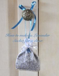 How+to+Make+a+Lavender+Sachet
