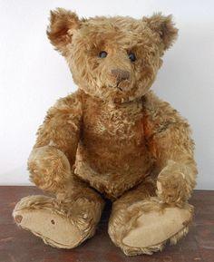 Teddy Bear early 1900's Steiff - great center seam bear | Antique ...