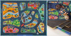 Teppiche - Spielteppich Berlin - ein Designerstück von annyo bei DaWanda