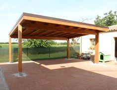 pergola oak carport - Google Search