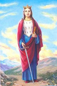 A Saint a day: May 15 St. Dymphna Patron of those suffering for nervous and mental afflictions. Dymphna was born in Ireland during the 7th century. www.catholic.org/