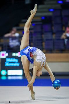 Melitina Staniouta (Belarus) won silver in ball finals at World Cup (Berlin) 'Berlin Masters' 2016
