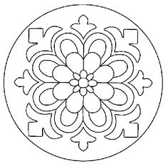 Coloring Pages - Mandala Mandala Art, Mandala Design, Mandala Pattern, Flower Mandala, Stained Glass Patterns, Mosaic Patterns, Embroidery Patterns, Quilt Patterns, Crewel Embroidery