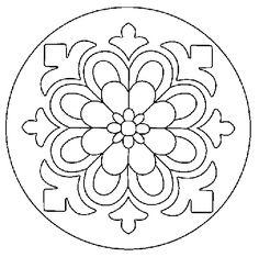 ❤~ Mandala para Colorear ~❤   http://mandala.mandala.zip.net/images/1mandA.gif
