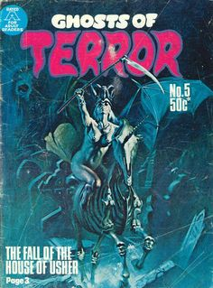 Cover for Ghosts of Terror (1976 ? series) #5
