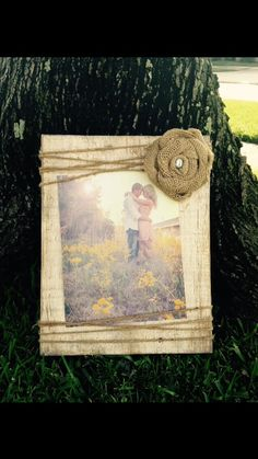 Rustic wedding picture frame, rustic picture frame, Wedding gift, wedding picture frame, 8x10 picture frame