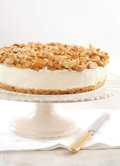 JANNA GUR brings you the taste of Israel - Cheesecake with Assorted Nuts