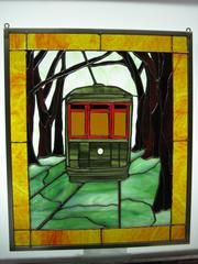 New-Orleans trolley
